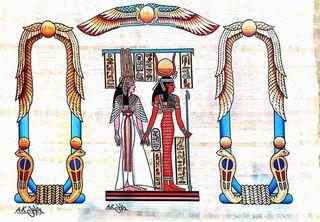 イシスとハトホル女神.jpg